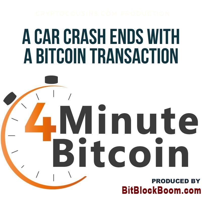 A Car Crash Ends With a Bitcoin Transaction