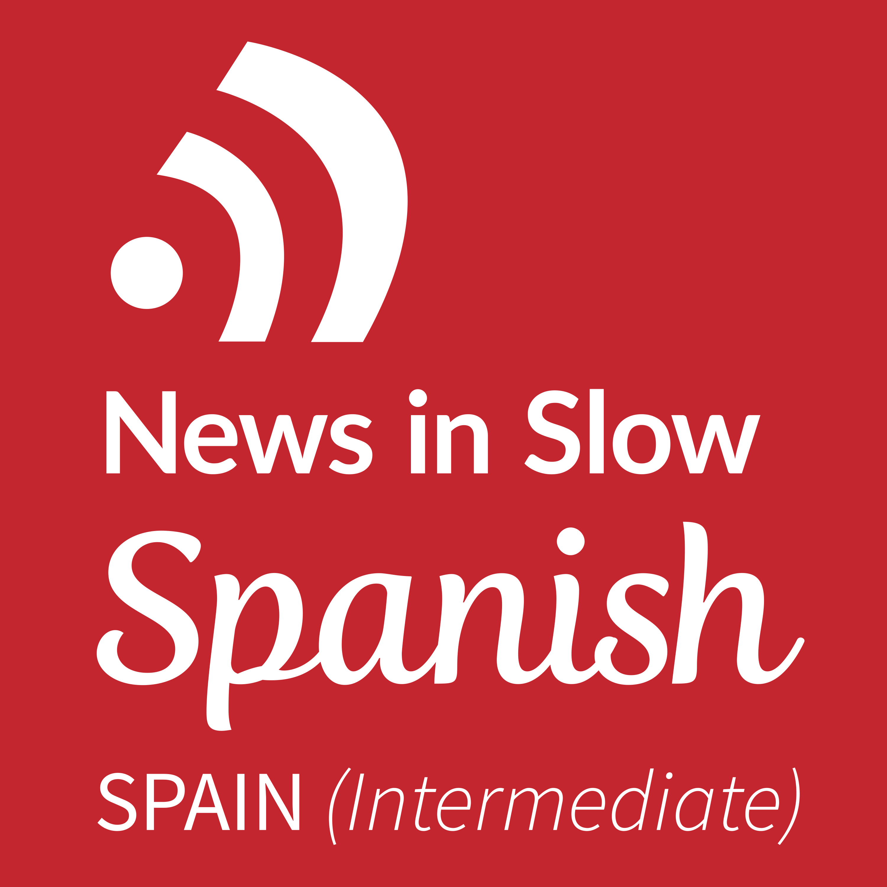 News in Slow Spanish - #404  - Weekly language learning show with discussion of current events