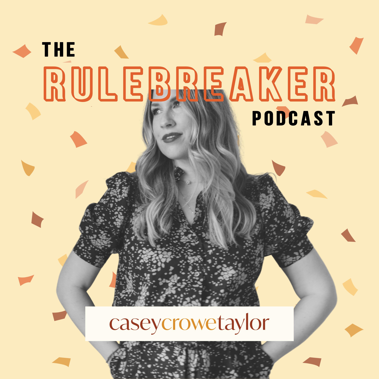 The Rulebreaker Podcast show art