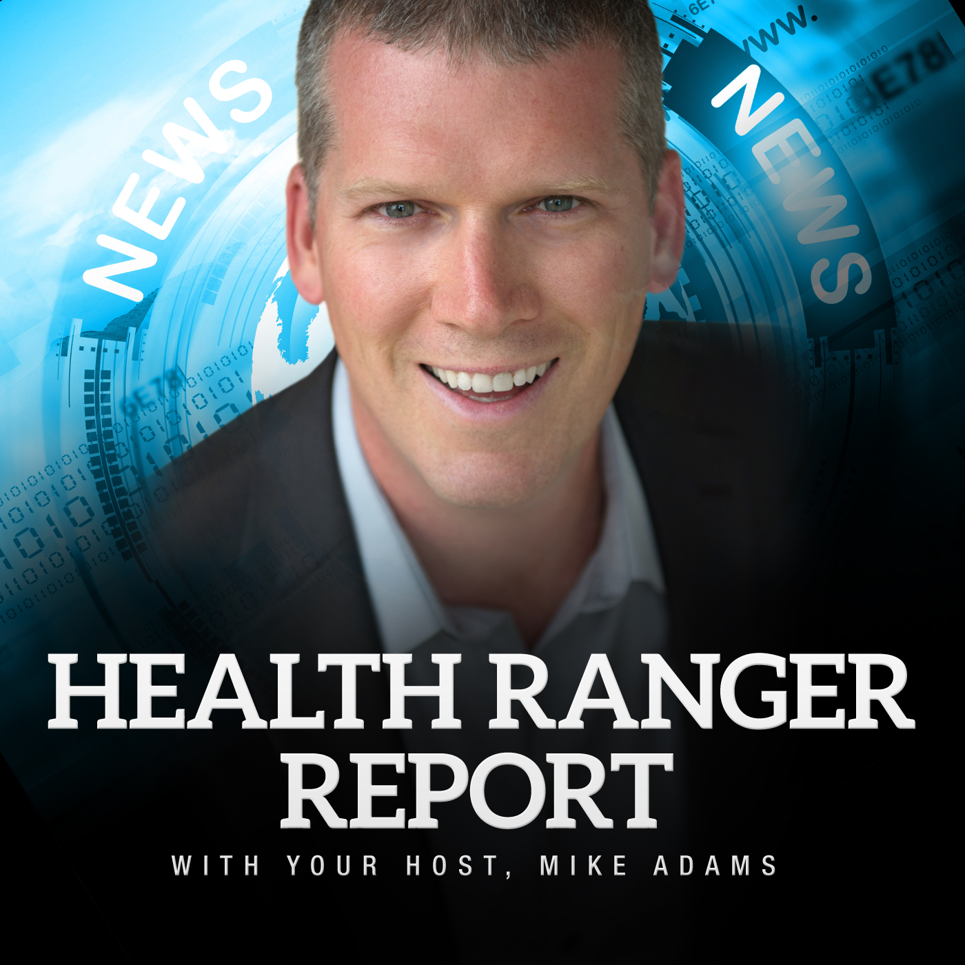 The Health Ranger Report show art