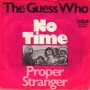 Artwork for Guess Who - No Time - Time Warp Radio Song of The Day, 2/26/16
