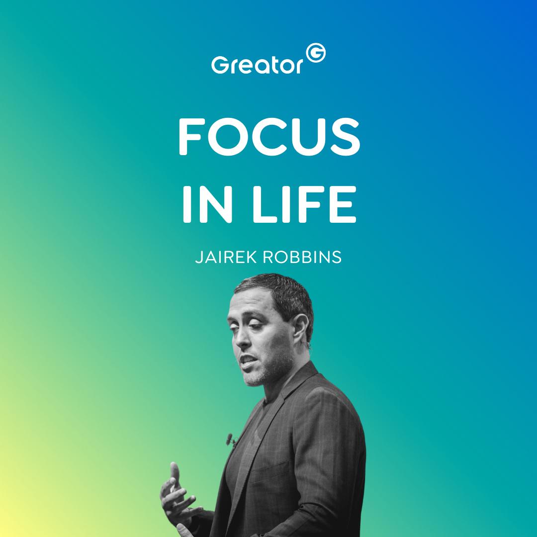EN | Fokus im Leben: So wirst du in JEDEM Lebensbereich extrem erfolgreich // Jairek Robbins