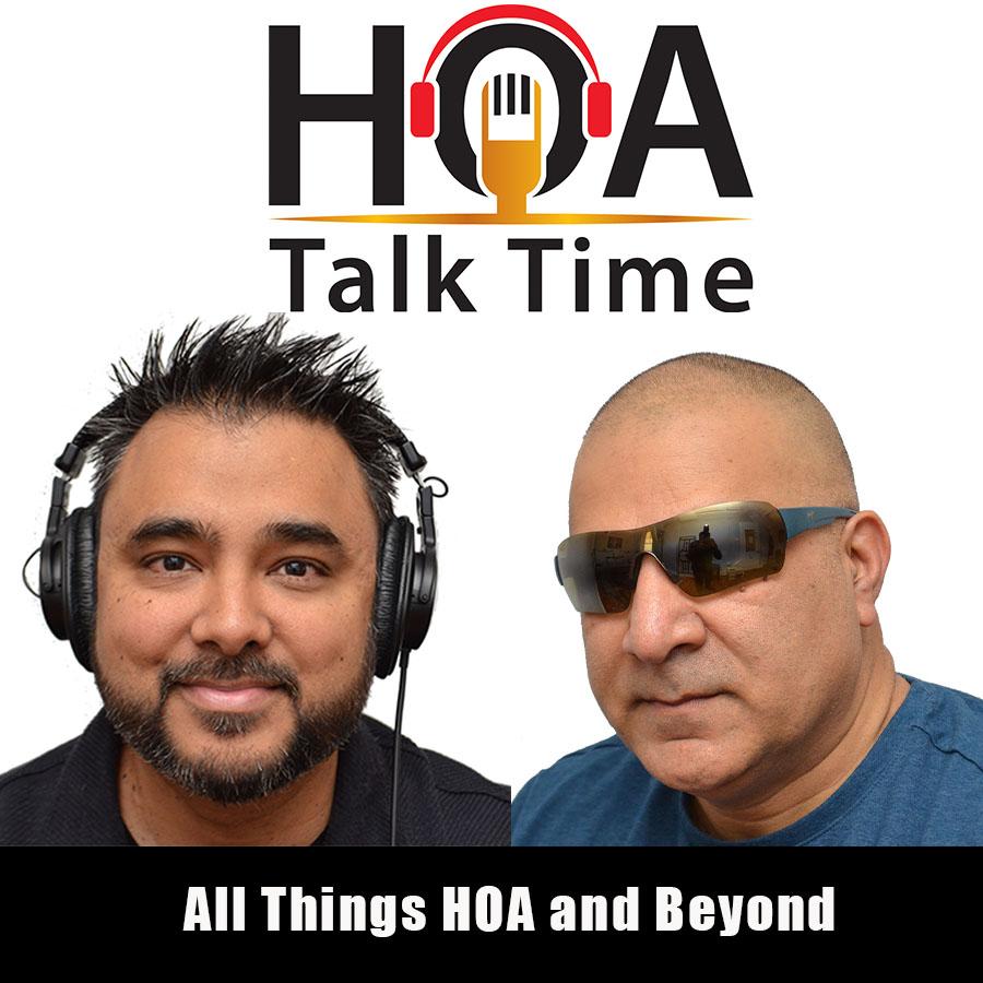 HOA Talk Time show art