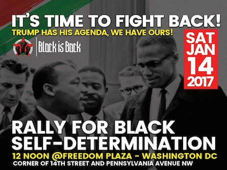 Go to DC to Fight for Black Self-Determination – Not for Clinton and the CIA