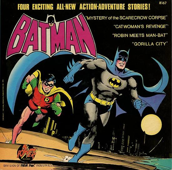 Batman vol 2 on Power Records