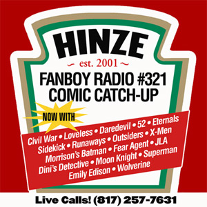 Fanboy Radio #321 - Comic Book Catch-Up LIVE