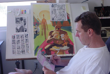 Steve Rude-The Dude Reflects And Looks Ahead