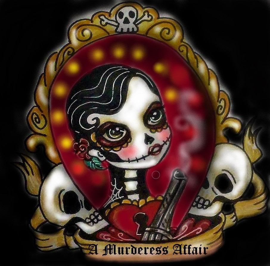 A Murderess Affair show art