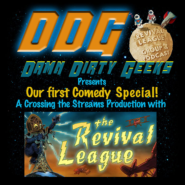 The Damn Dirty Geeks and The Revival League Podcast present a crossover collection of comedy sketches 'Shorts in a Bunch: Back to School'