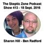Artwork for The Skeptic Zone #413 - 18.September.2016