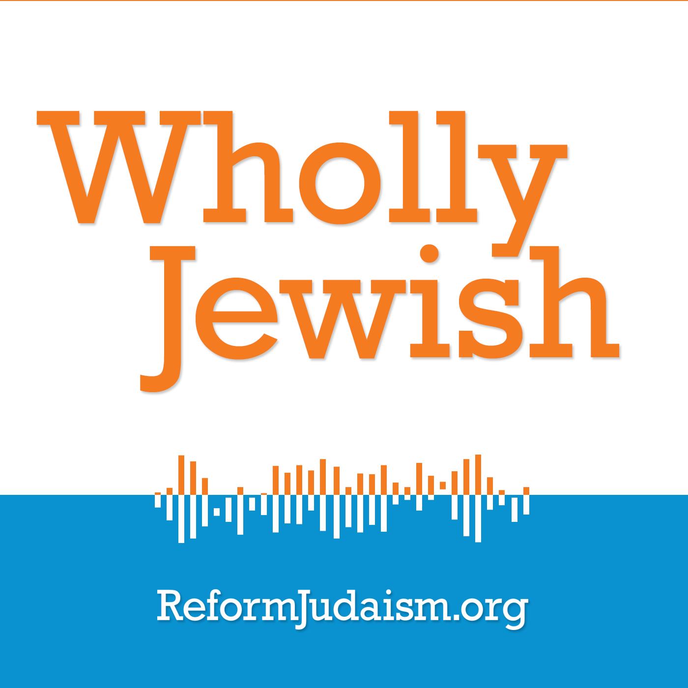 Wholly Jewish show art
