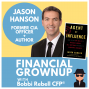 """Artwork for How to use spy skills and cold hard cash to be a financial grownup with """"Agent of Influence"""" author Jason Hanson"""