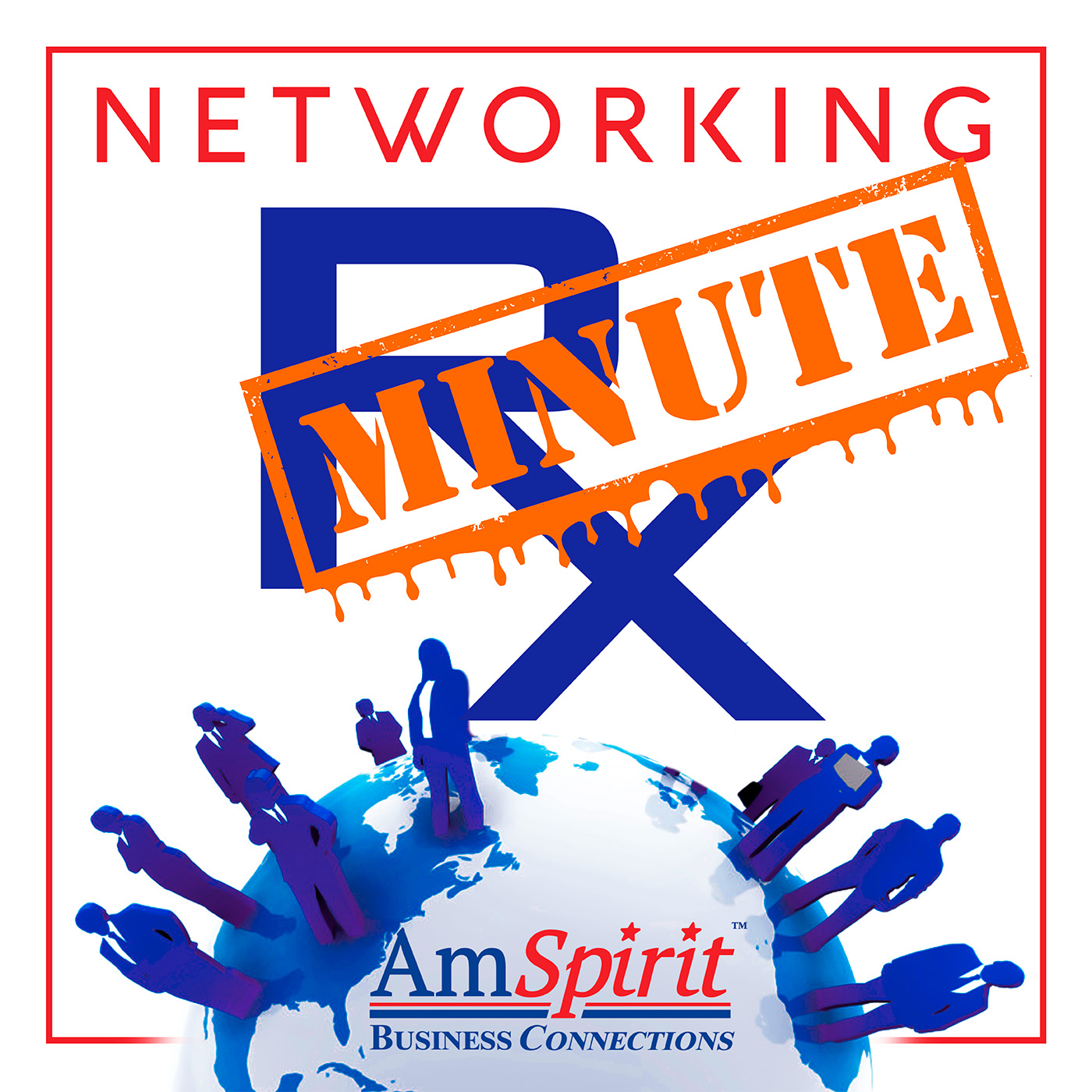 Networking Rx Minute - For Business Professionals show art
