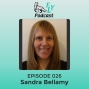 Artwork for EP026 - How to embrace your quirky and asexuality with Sandra Bellamy