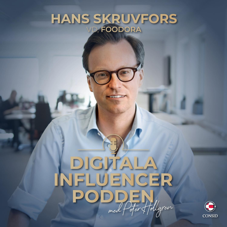 120. Spökrestauranger och robotleveranser   Hans Skruvfors, vd Foodora