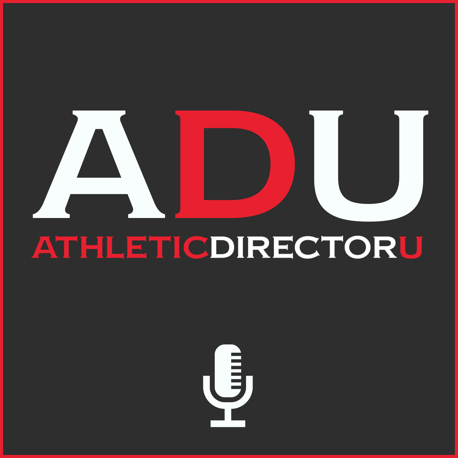The AthleticDirectorU Podcast show art