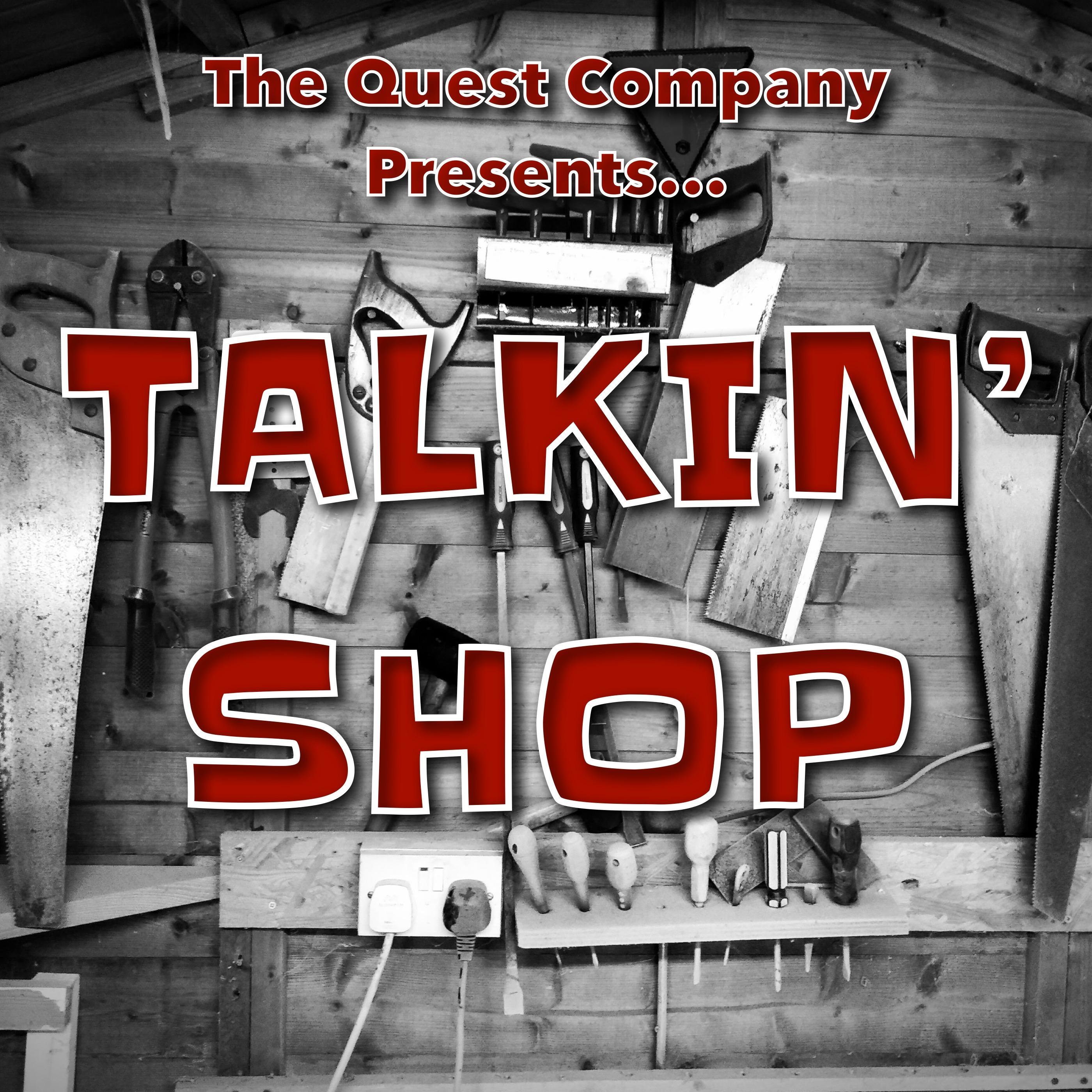 Talkin' Shop - CIRCLE Debrief show art