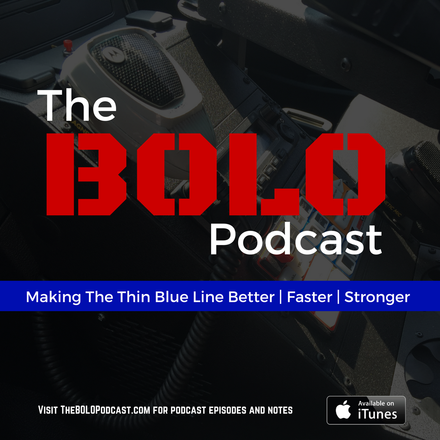 The BOLO Podcast: Police, Fitness, And Crime Fighting show art