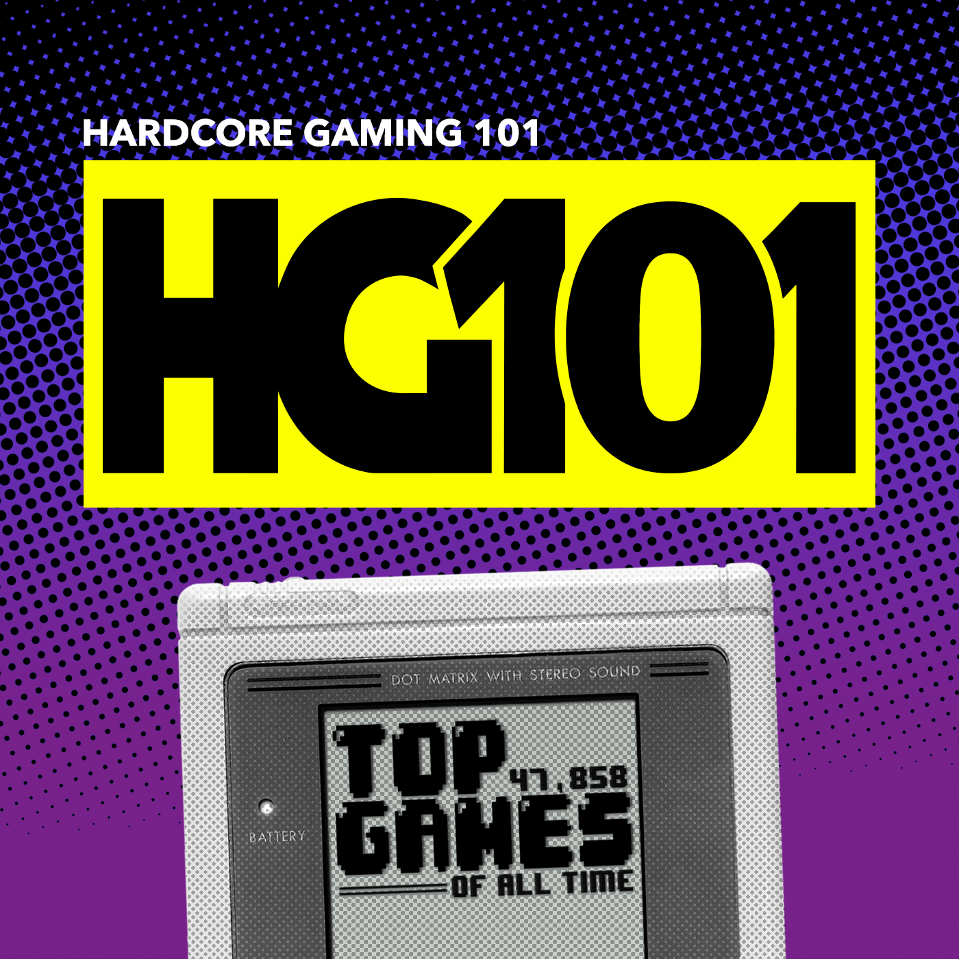 Hardcore Gaming 101 show art