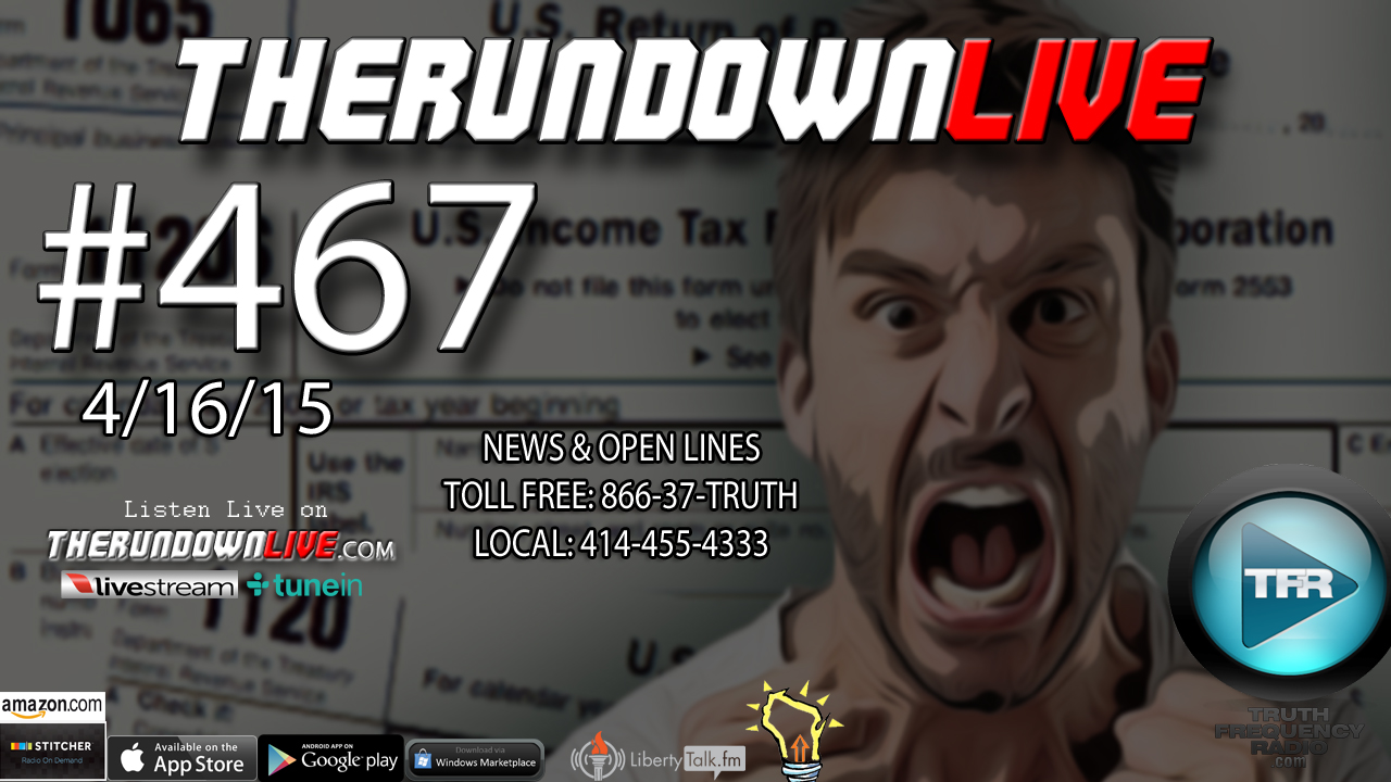 The Rundown Live #467 (Behavior Recognition,Global Warming,Selection 2016)