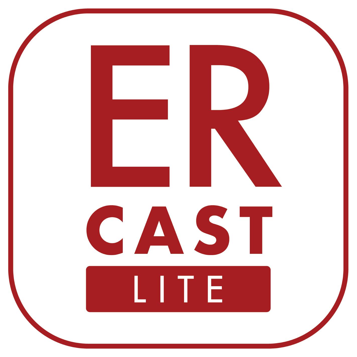 ERcast Lite show art