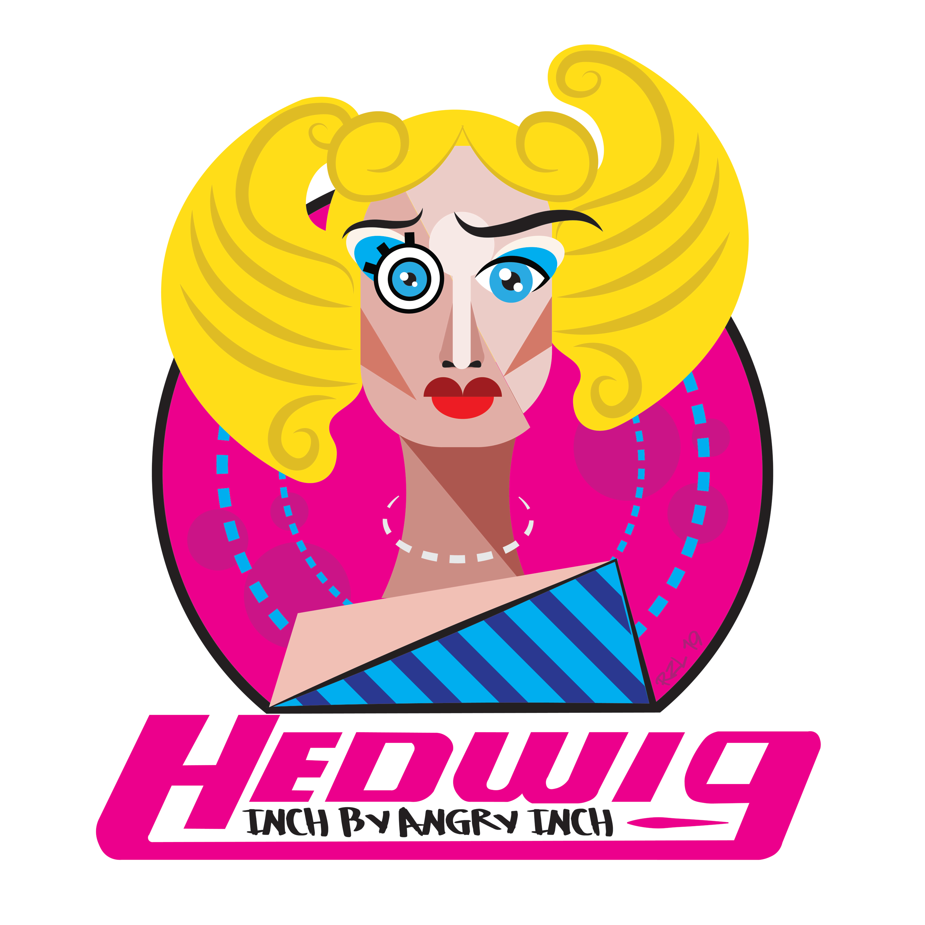 Hedwig: Inch by Angry Inch show art