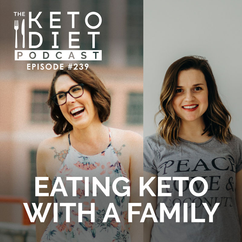 #239 Eating Keto with a Family with Lesya Holzapfel