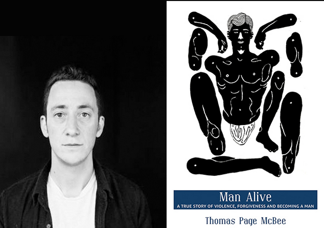 Artwork for Thomas Page McBee, 'Man Alive', on Masculinity and Becoming a Man.