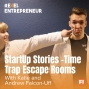 Artwork for StartUp Stories - Time Trap Escape Rooms with Andrew and Katie Falcon-Uff