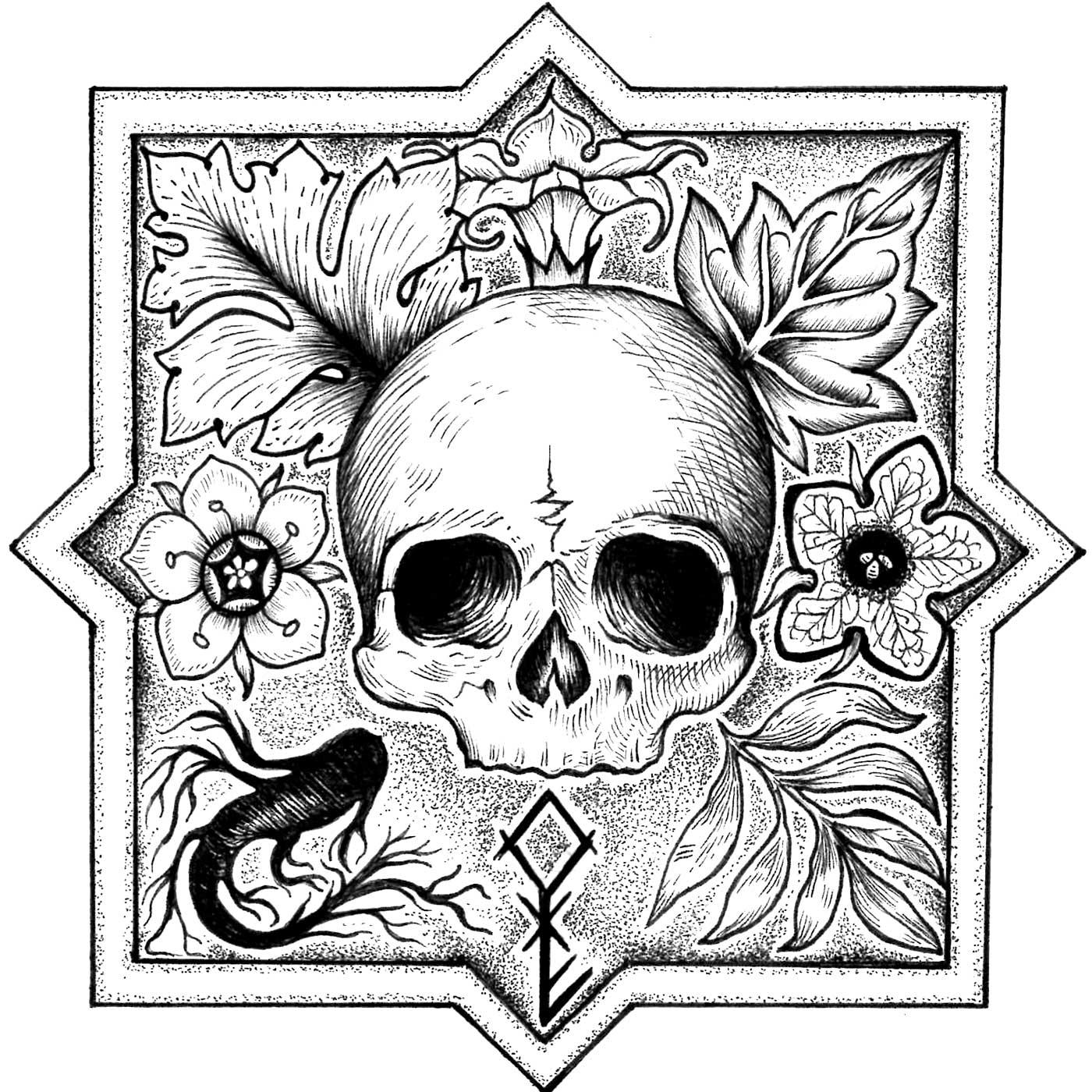 The Garden of Ink & Bones show art