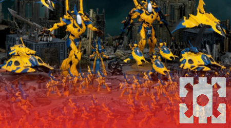 Masters of the Forge Episode 070 - Stompy Bots Part 4 - Iyanden on Your Tabletop and Monster Mash