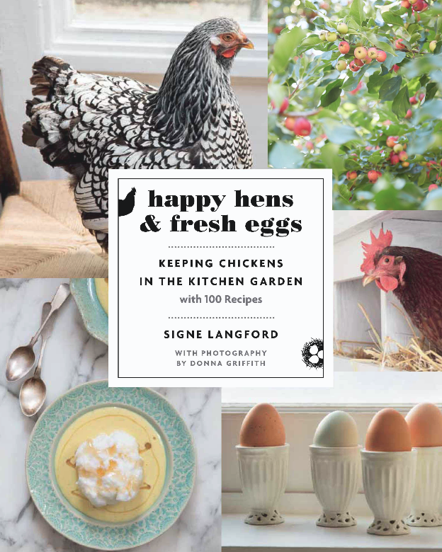 Happy Hens and Fresh Eggs book cover