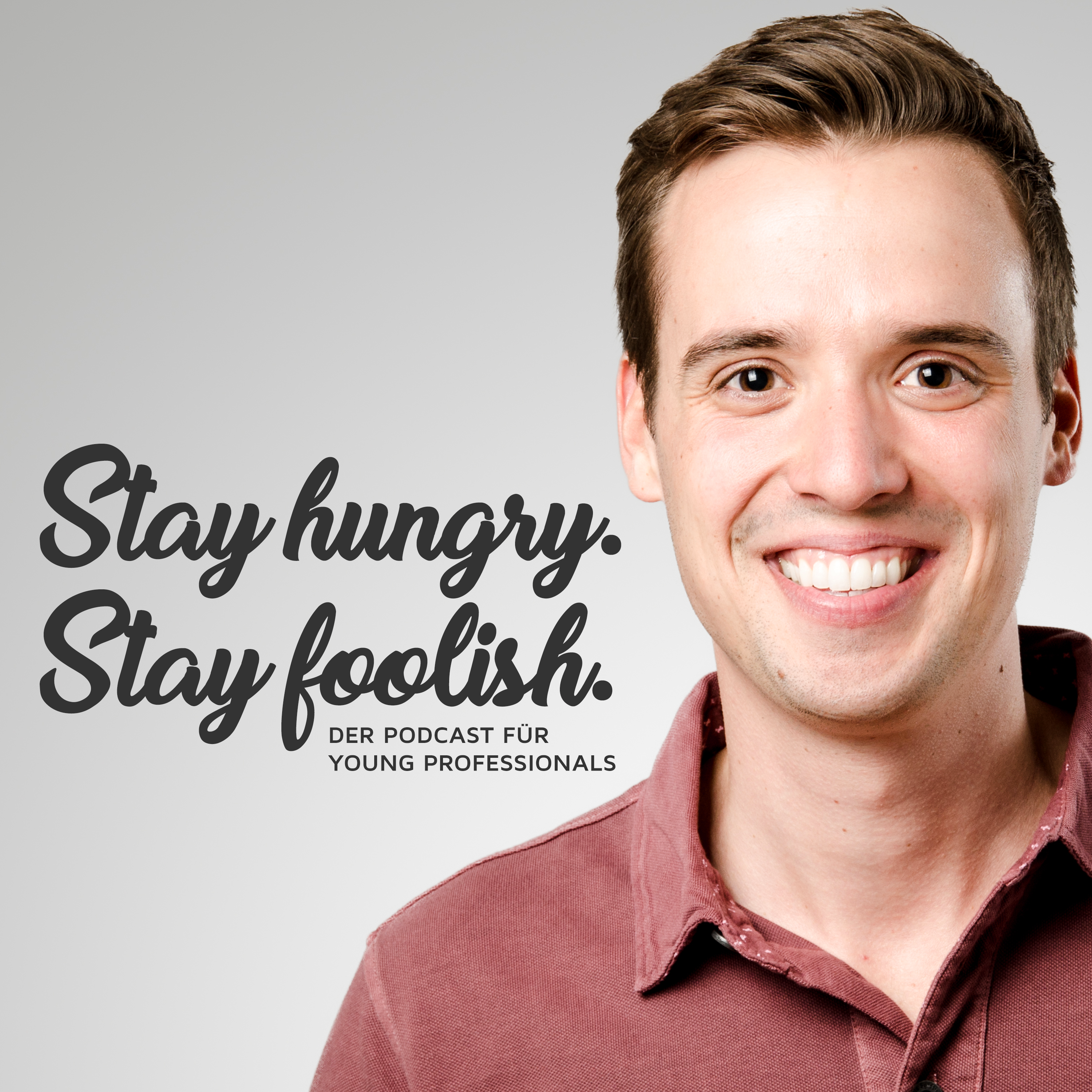 Stay hungry. Stay foolish. show art