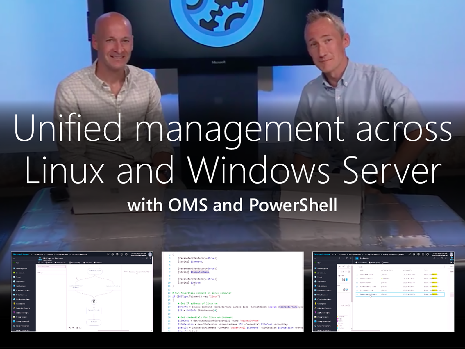 Artwork for Unified management across Linux and Windows Server