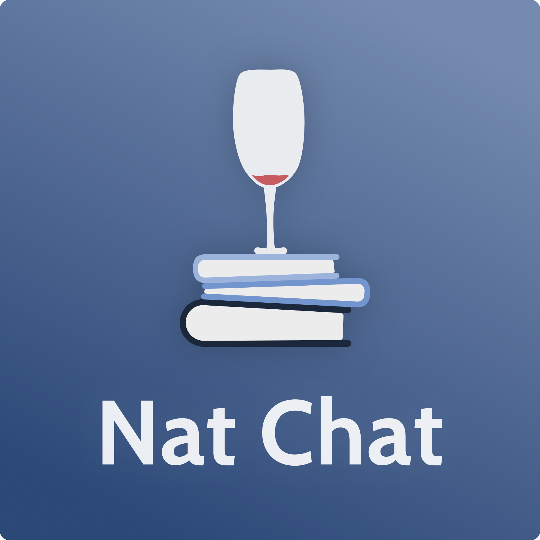 Nat Chat show art
