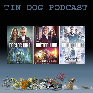 TDP 439: Three Doctor Who Novels