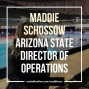 Artwork for Arizona State's Maddie Schossow on the rise of women in staff positions with college wrestling teams
