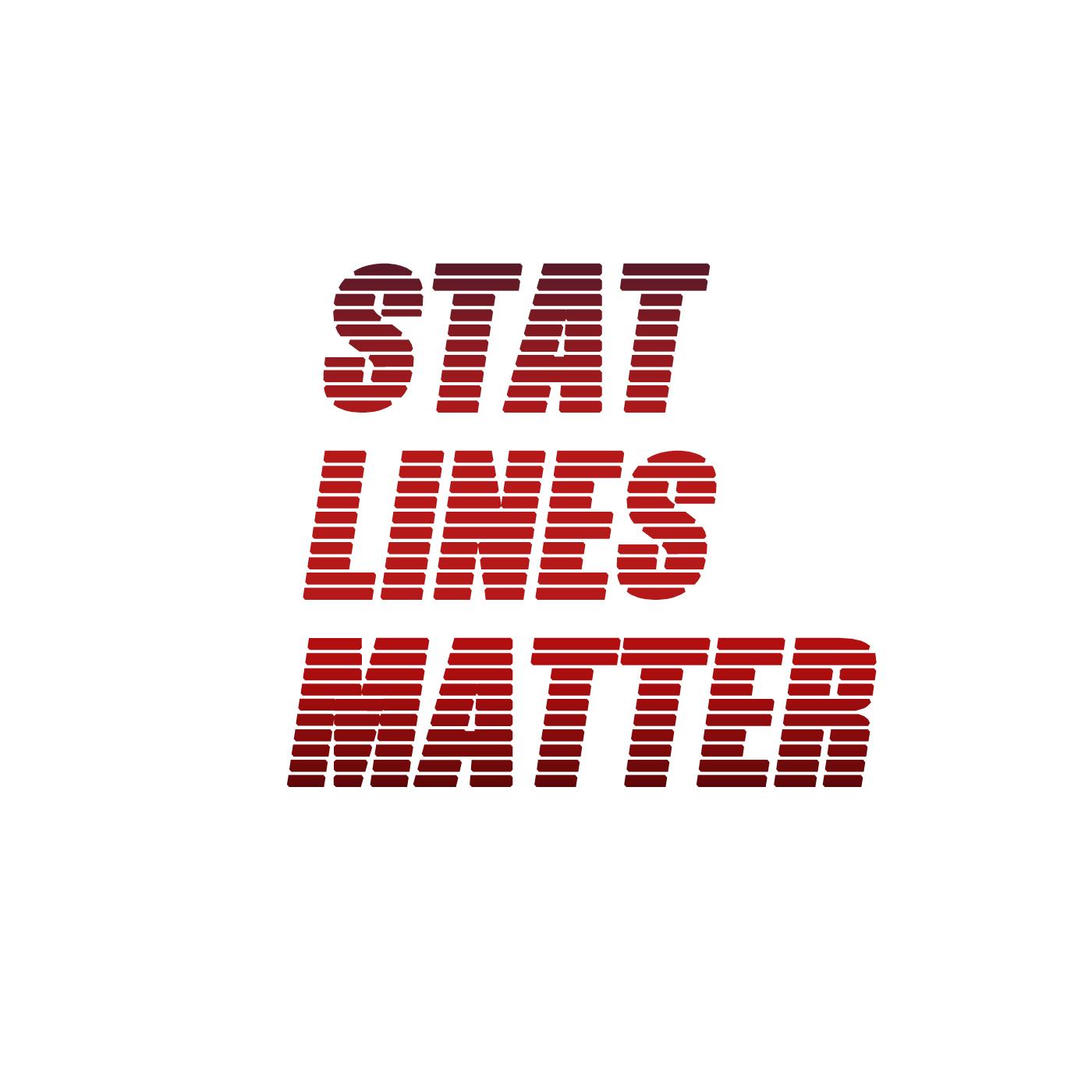 Stat Lines Matter show art