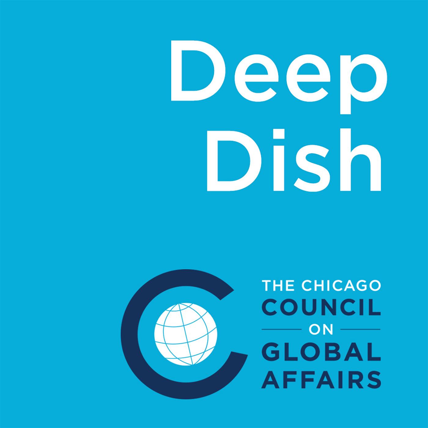 Deep Dish on Global Affairs show art