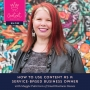Artwork for 1: Using Content as a Service-Based Business Owner with Maggie Patterson