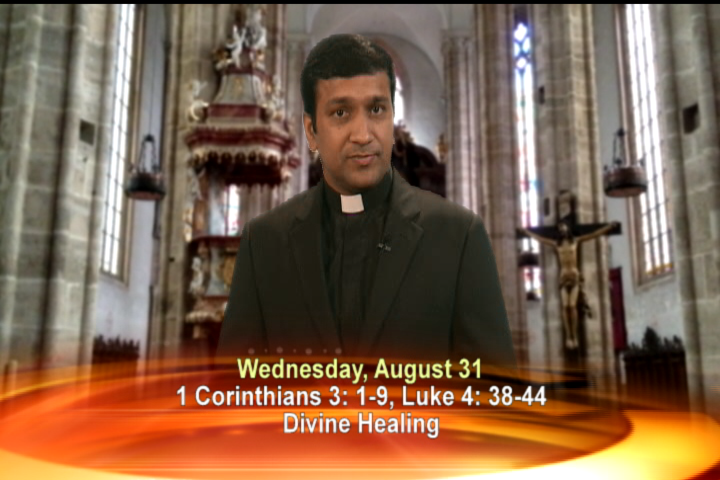 Artwork for Wednesday, August 31, 2016 Today's topic: Divine healing