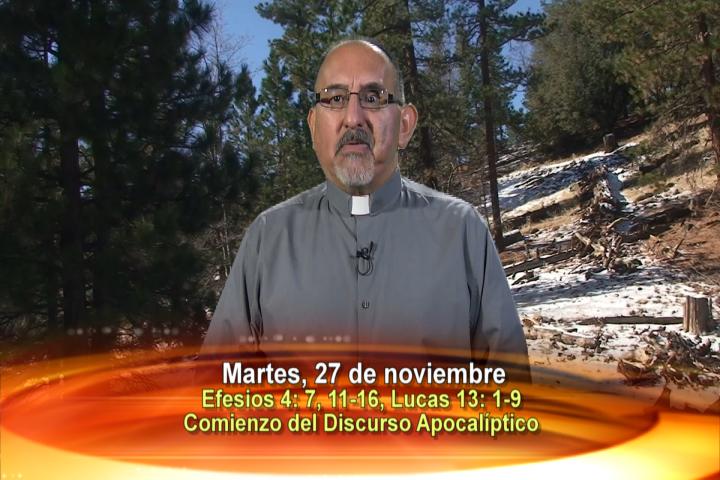 Artwork for Dios te Habla con Fr. Roberto Flores, SVD;   El tema: Comienzo del Discurso Apocalíptico
