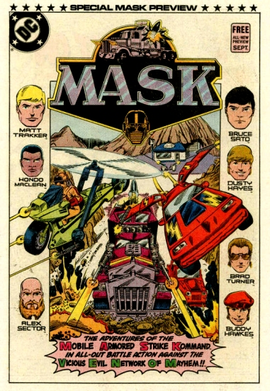 Episode 6 - M.A.S.K. is so macho
