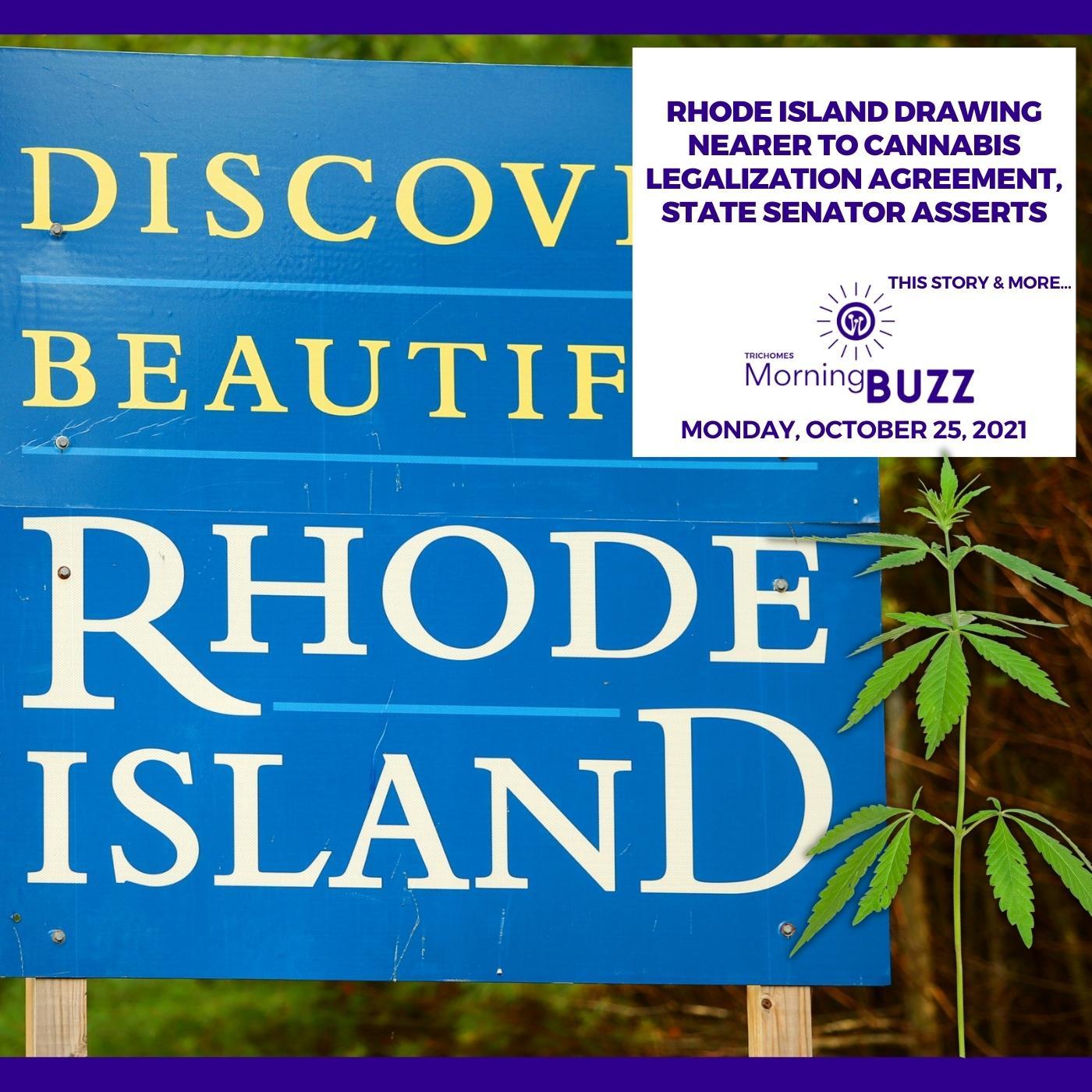 Rhode Island Drawing Nearer To Cannabis Legalization Agreement, State Senator Asserts show art
