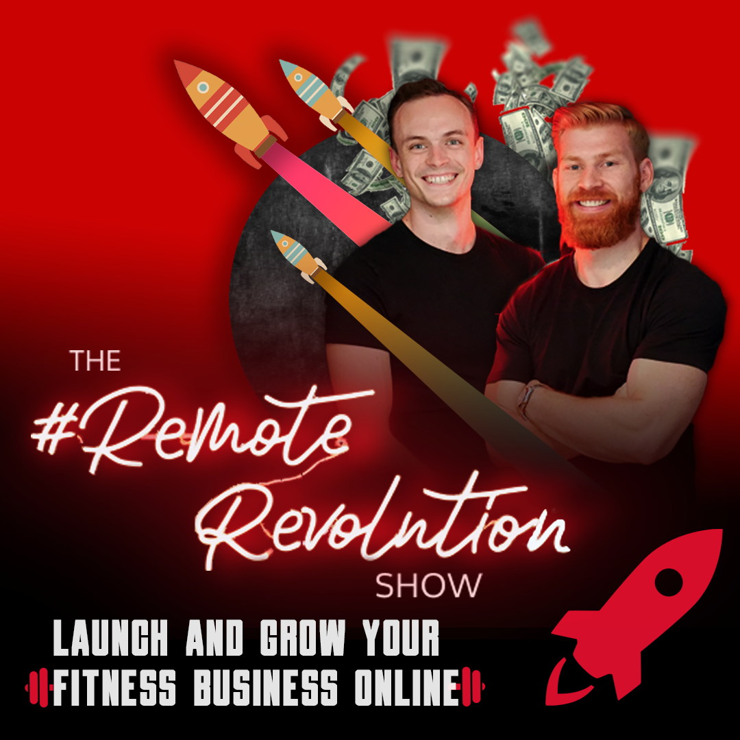 The Remote Revolution Show: For Online Fitness Professionals show art