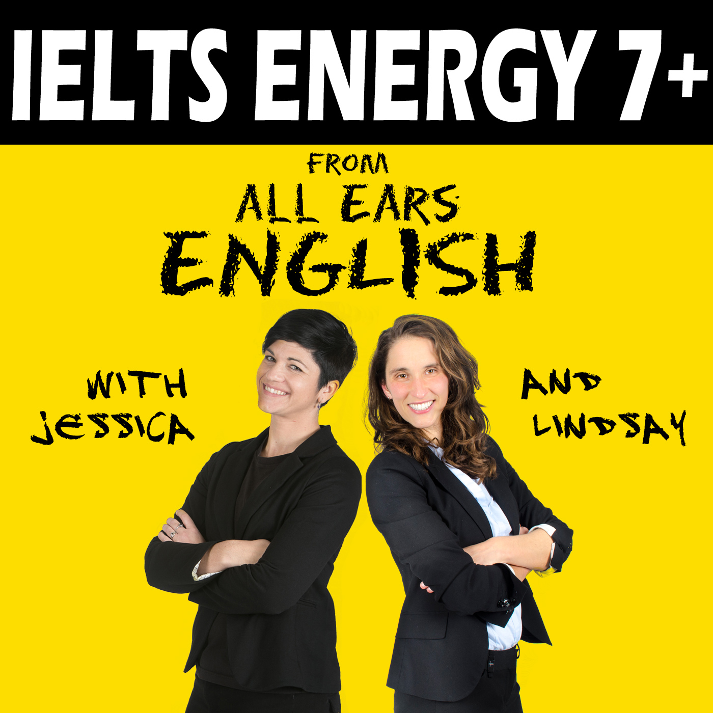 IELTS Energy English Podcast show art