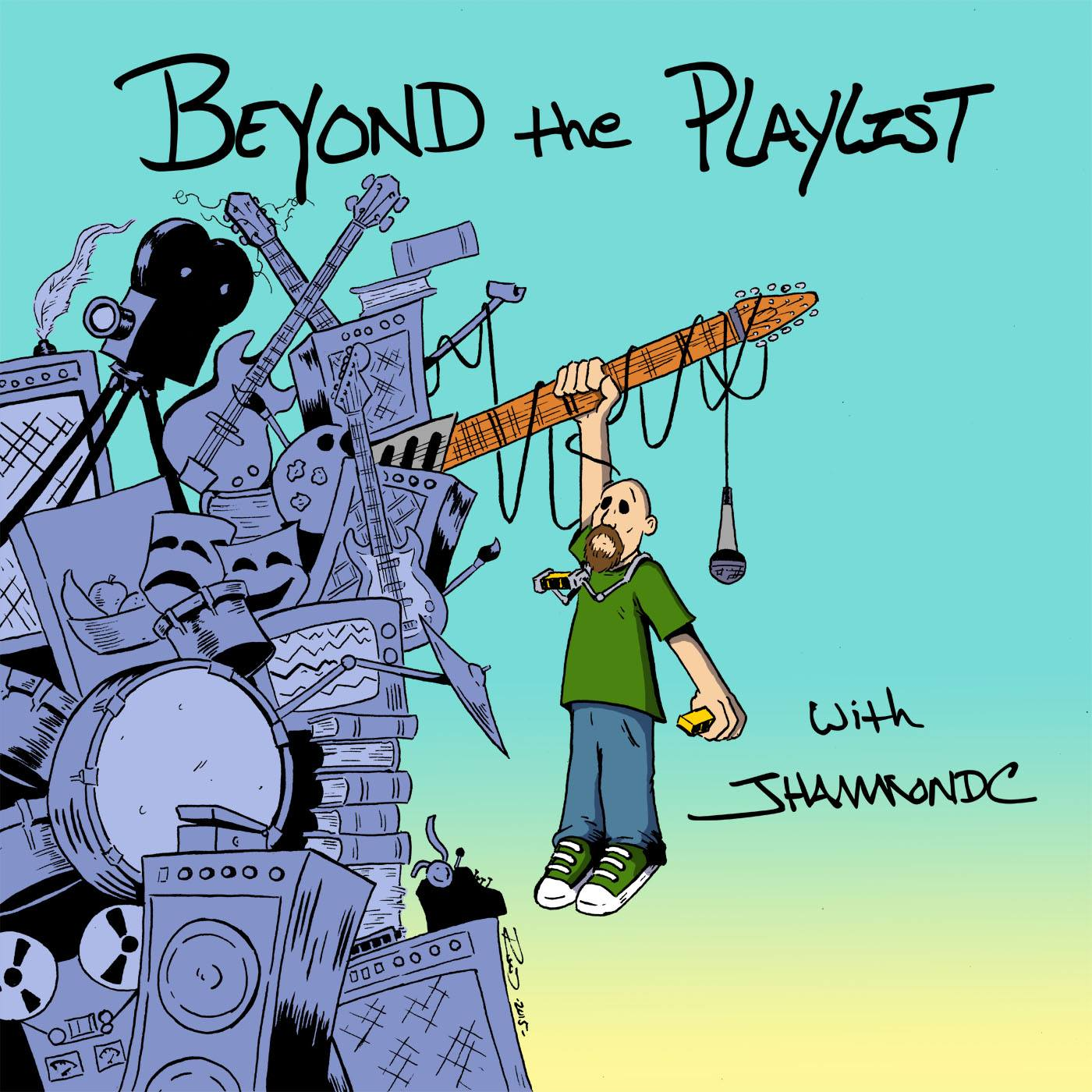 Beyond the Playlist with JHammondC: Joe Cortela show art