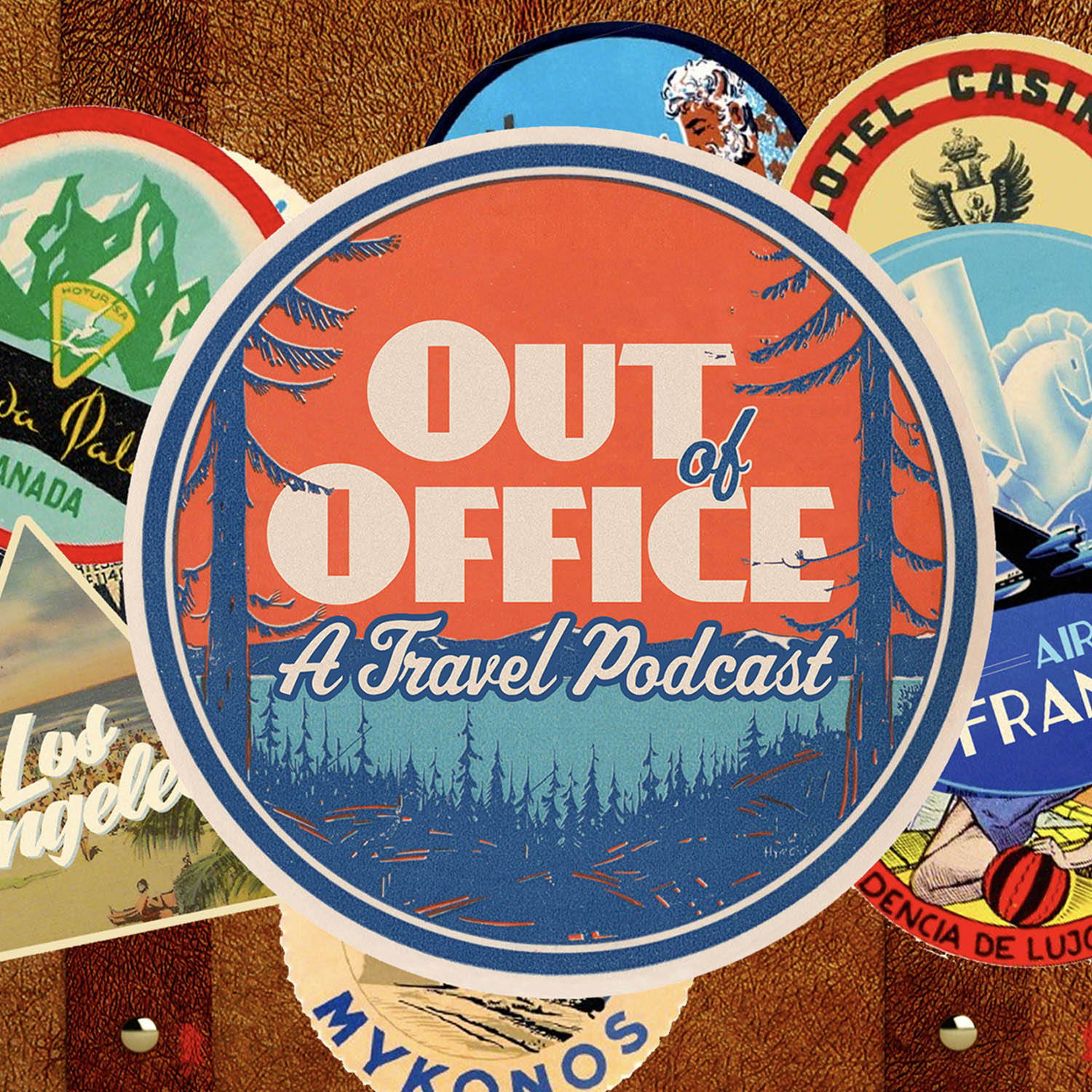 Out Of Office: A Travel Podcast show art