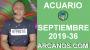 Artwork for HOROSCOPO ACUARIO - Semana 2019-36 Del 1 al 7 de septiembre de 2019 - ARCANOS.COM...