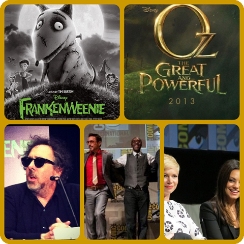Episode 423 - SDCC Movie Special: Frankenweenie, Oz the Great and Powerful, Iron Man 3!